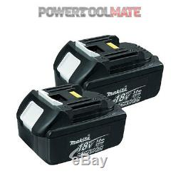 Makita Genuine BL1830 TWIN PACK 18V 3.0ah Lithium-ion LXT Battery UK