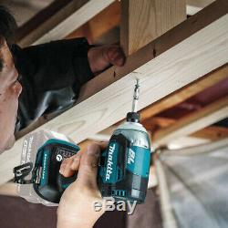 Makita Impact Driver Cordless 18-Volt Lithium-Ion Brushless 4-Speed (Tool Only)