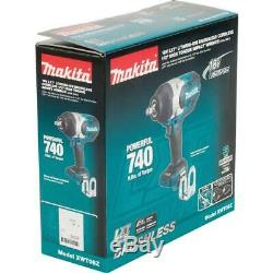Makita Impact Wrench 1/2 in. 18-Volt Lithium-Ion 3-Speed Cordless (Tool-Only)