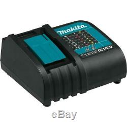 Makita Impact Wrench Kit 1/2 in. 3-Speed 18V Lithium-Ion Battery Charger