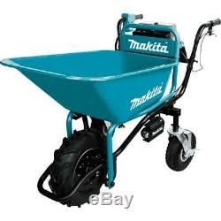 Makita Power Assisted Wheel Barrow Cordless 18 Volt X2 LXT Lithium Ion Brushless
