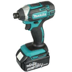 Makita Power Tool Combo Kit Work Light 18-Volt Lithium-Ion Cordless (5 Tools)