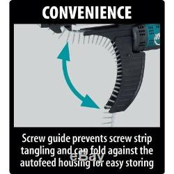 Makita Screwdriver Screw Gun Cordless Autofeed 18V Lithium-Ion (Tool-Only) NEW