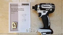 Makita XDT11z White 18v LXT Lithium-Ion 1/4Cordless Impact Driver Tool Only2018