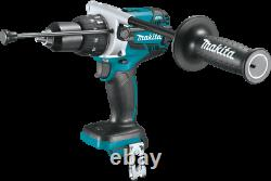 Makita XPH07 18V LXT LithiumIon Brushless 1/2 Hammer DriverDrill with Batteries