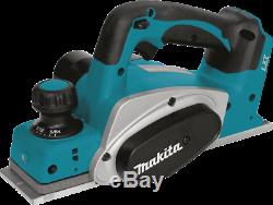 Makita XPK01Z 18V LXT LithiumIon Cordless 31/4 Planer, Tool Only