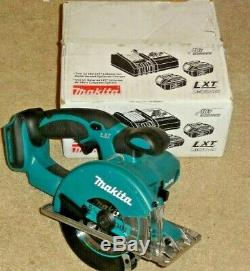 Makita XSC01Z 18V LXT LithiumIon Cordless 53/8 Metal Cutting Saw, Tool Only