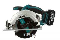Makita XT250 LXT 18V Cordless Lithium Ion Hammer Driver Drill and Saw Tool Kit