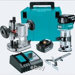 Makita XTR01T7 18V LXT Lithium-Ion Brushless Compact Router Kit