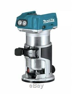 Makita XTR01Z 18V LXT Lithium-Ion Brushless Cordless Compact Router W 5.0 Ah Bat