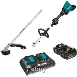 Makita XUX01M5PT 18V X2 LXT Lithium-Ion Kit with String Trimmer Attachment