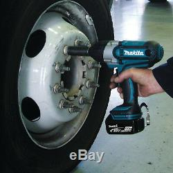 Makita XWT04Z 18-Volt 1/2-Inch Lithium-Ion High Torque Impact Wrench, (Bare-Tool)