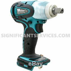 Makita XWT05Z 18-Volt 1/2-Inch Lithium-Ion Cordless Impact Wrench (Bare-Tool)