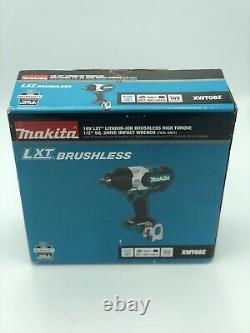 Makita XWT08Z 18V Lithium-Ion Brushless High Torque 1/2 Sq Drive Impact Wrench