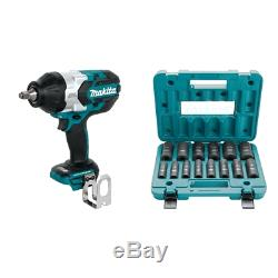 Makita XWT08Z LXT Lithium-Ion Brushless Cordless High Torque Square Drive Impac