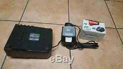 Makita dc18rc battery charger & with 2 brand new 4.0ah 18v lithium ion batteries