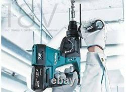 New Makita 18V Hammer drill Lithium-Ion Brushless Cordless Drilling chipping SDS